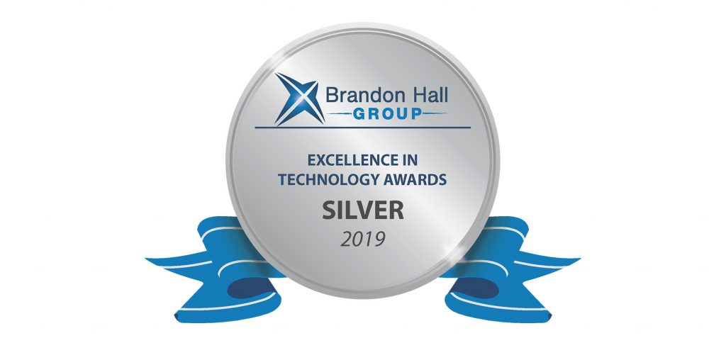 Brandon Hall Tech Award 2019