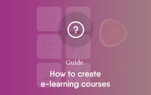 How to create e-learning