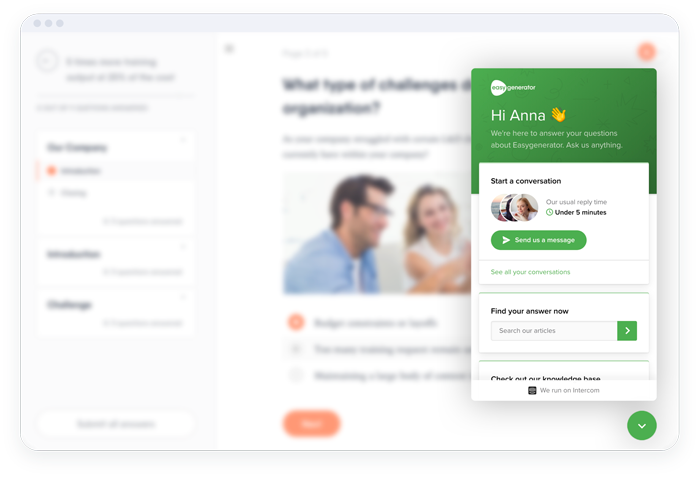 Experience personalized support at your fingertips